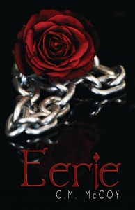 """Book Cover for """"Eerie"""" by CM McCoy"""