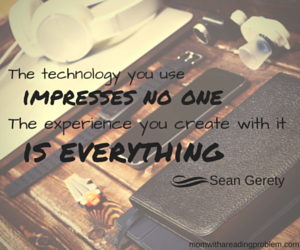 The technology you use quote