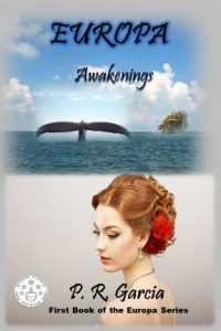 "Book Cover for ""Europa Awakening"" by PR Garcia"