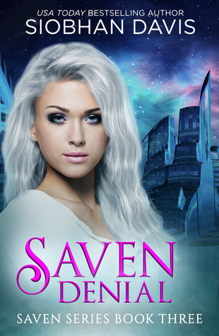 "Book Cover for ""Saven: Denial"" by Siobhan Davis"