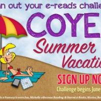 #COYER Summer Vacation, Can You Read a Series in a Month, and ARC August – Challenge Complete!