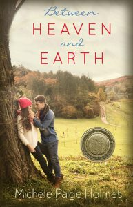 """Book Cover for """"Between Heaven and Earth"""" by Michele Paige Holmes"""