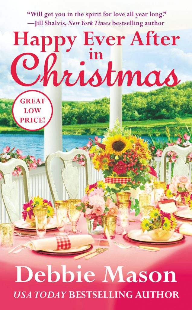 "Book Cover for ""Happy Ever After in Christmas"" by Debbie Mason"