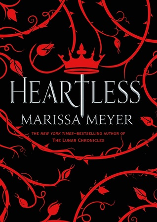 "Book Cover for ""Heartless"" by Marissa Meyer"