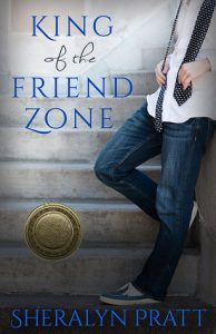 """Book Cover for """"King of the Friend Zone"""" by Sheralyn Pratt"""