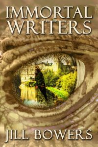 "Book Cover for ""Immortal Writers"" by Jill Bowers"