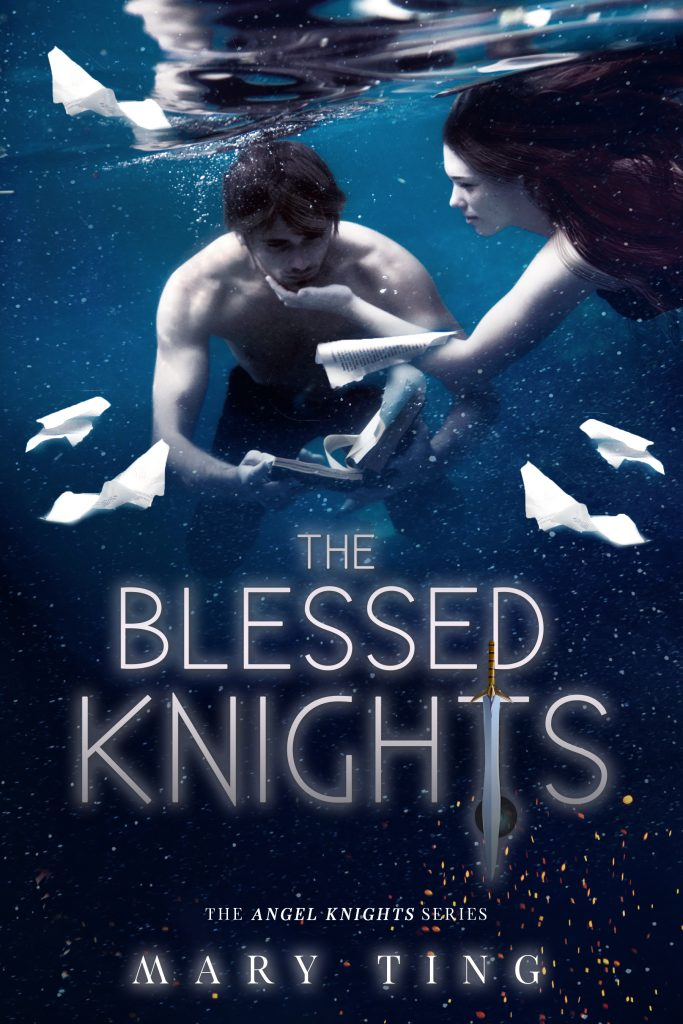 "Book Cover for ""The Blessed Knights"" by Mary Ting"