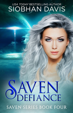 "Book Cover for ""Saven: Defiance"" by Siobhan Davis"