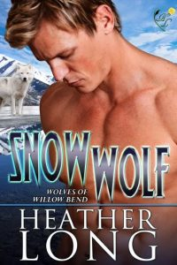 "Book Cover for ""Snow Wolf"" by Heather Long"
