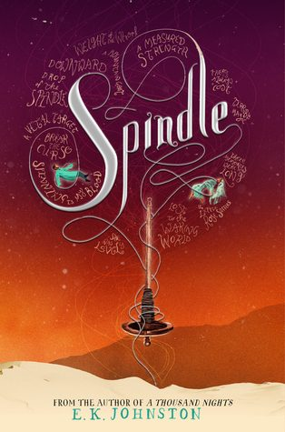 Waiting on Wednesday #74 – Spindle by E.K. Johnston