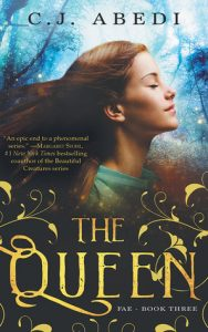 "Book Cover for ""The Queen"" by C.J. Abed"