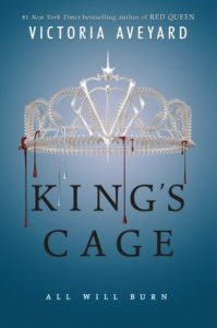 "Book Cover for ""King's Cage"" by Victoria Aveyard"