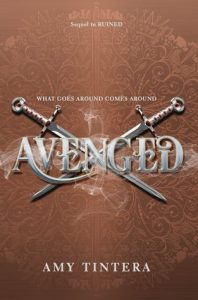 "Book Cover for ""Avenged"" by Amy Tintera"