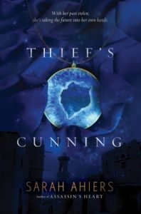 "Book Cover for ""Thief's Cunning"" by Sarah Ahiers"