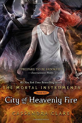 "Book Cover for ""City of Heavenly Fire"" by Cassandra Clare"