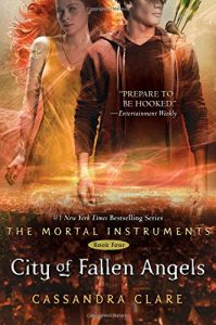 """Book Cover for """"City of Fallen Angels"""" by Cassandra Clare"""
