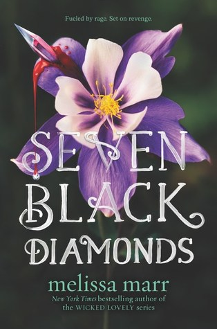 "Book Cover for ""Seven Black Diamonds"" by Melissa Marr"