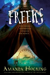 "Book Cover for ""Freeks"" by Amanda Hocking"