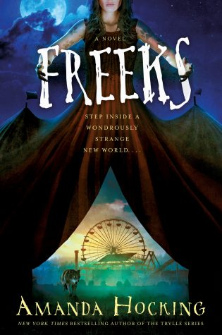 Blog Tour: Freeks by Amanda Hocking