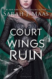 """Book Cover for """"A Court of Wings and Ruin"""" by Sarah J. Maas"""