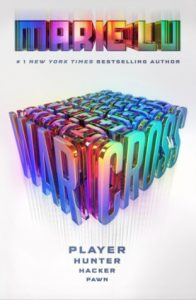 "Book Cover for ""Warcross"" by Marie Lu"