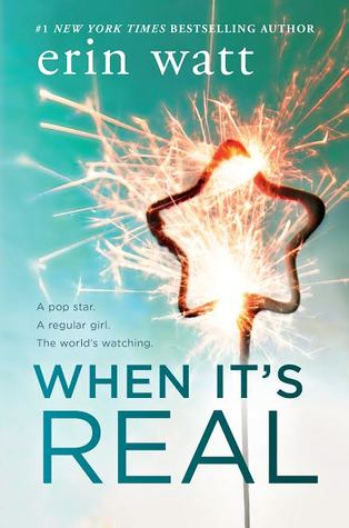"Book Cover for ""When It's Real"" by Erin Watt"