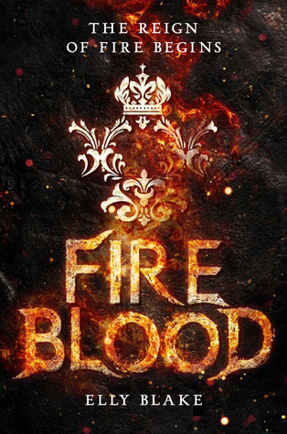 "Book Cover for ""Fireblood"" by Elly Blake"