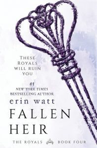 "Book Cover for ""Fallen Heir"" by Erin Watt"