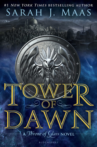 "Book Cover for ""Tower of Dawn"" by Sarah J. Maas"