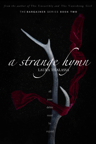 "Book Cover for ""A Strange Hymn"" by Laura Thalassa"