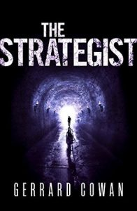 "Book Cover for ""The Strategist"" by Gerrard Cowan"