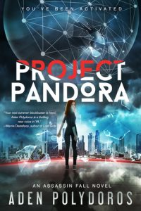 "Book Cover for ""Project Pandora"" by Aden Polydoros"