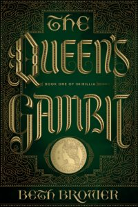 "Book Cover for ""The Queen's Gambit"" by Beth Brower"