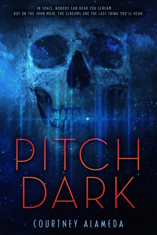 "Book Cover for ""Pitch Dark"" by Courtney Alameda"
