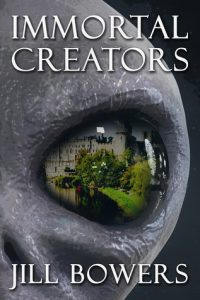 "Book Cover for ""Immortal Creators"" by Jill Bowers"