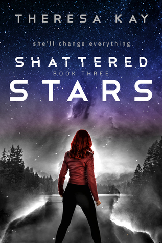 "Book Cover for ""Shattered Stars"" by Theresa Kay"