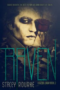 "Book Cover for ""Raven"" by Stacey Rourke"