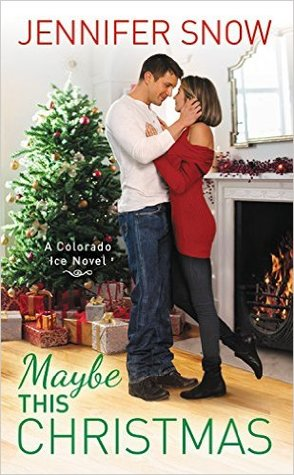 "Book Cover for ""Maybe this Christmas"" by Jennifer Snow"