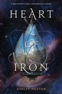 "Book Cover for ""Heart of Iron"" by Ashley Poston"