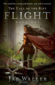 "Book Cover for ""The Call of the Rift: Flight"" by Jae Waller"