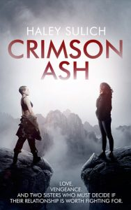 "Book Cover for ""Crimson Ash"" by Haley Sulich"
