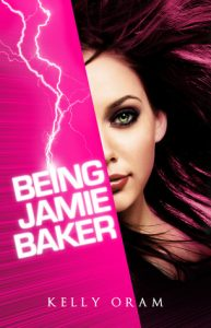 "Book Cover for ""Being Jamie Baker"" by Kelly Oram"