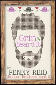 "Book Cover for ""Grin and Beard It"" by Penny Reid"