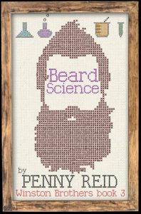 "Book Cover for ""Beard Science"" by Penny Reid"