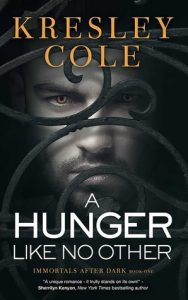 "Book Cover for ""A Hunger Like No Other"" by Kresley Cole"