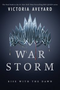 "Book Cover for ""War Storm"" by Victoria Aveyard"