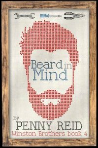 "Book Cover for ""Beard in Mind"" by Penny Reid"