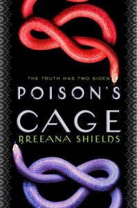"Book Cover for ""Poison's Cage"" by Breeana Shields"