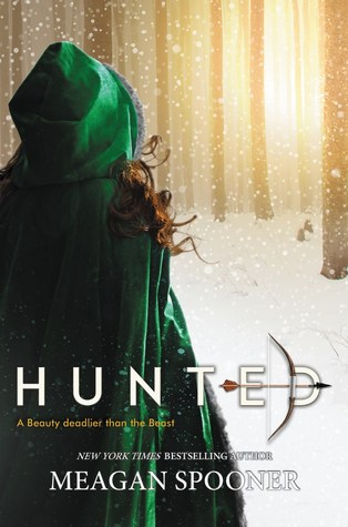 "Book Cover for ""Hunted"" by Megan Spooner"