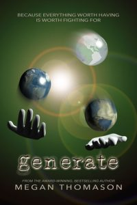"Book Cover for ""Generate"" by Megan Thomason"